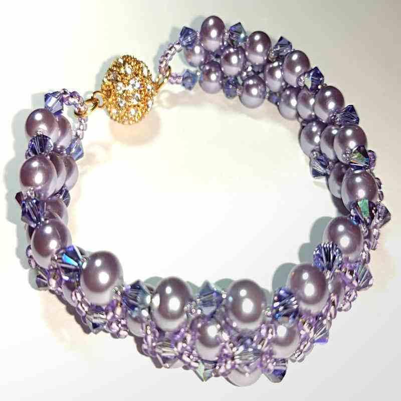 French Lavender Bracelet