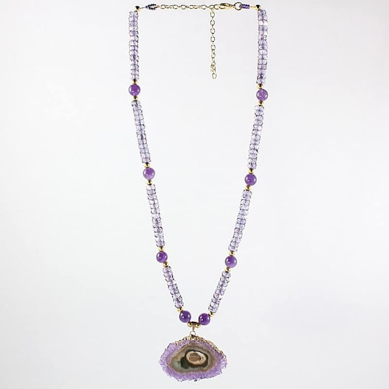 HerMJ.com - Purple Reverie Necklace