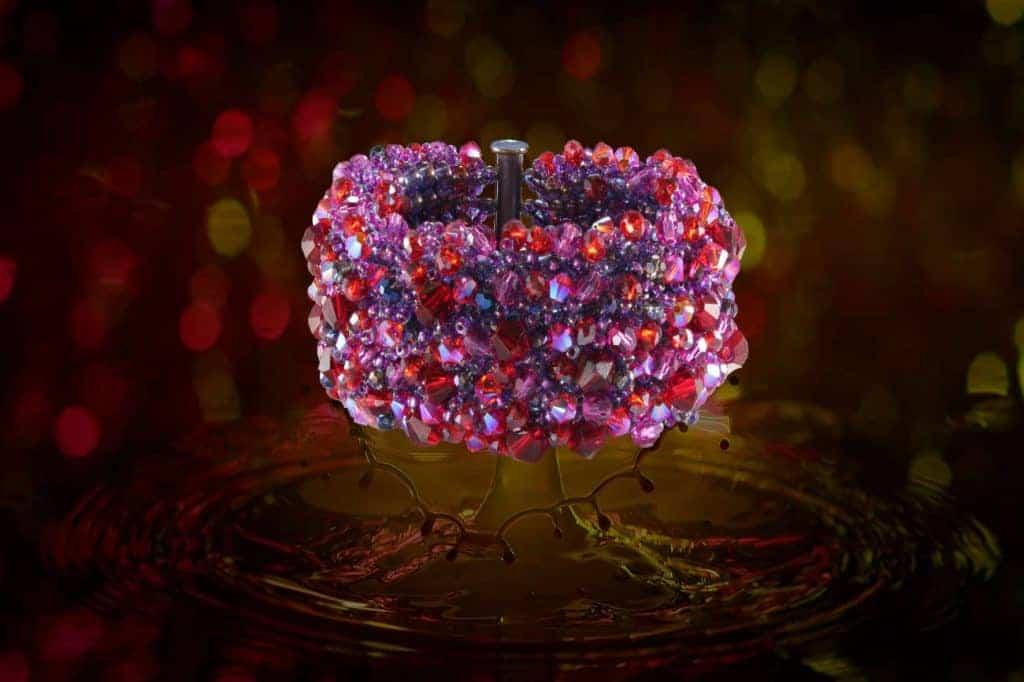 Her Majesty's Jewels - Crystal Splash Bracelet