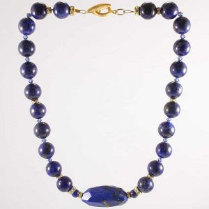 HerMJ.com - Lapis Terrene Necklace