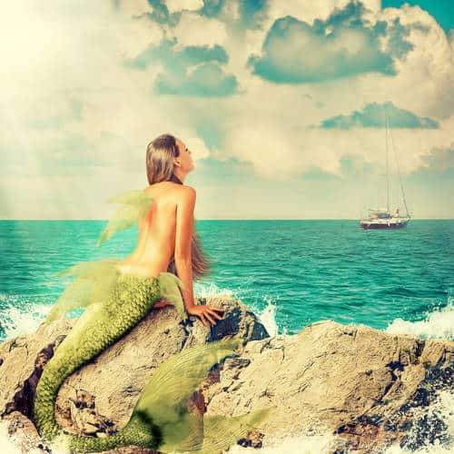 Aquamarine Mermaid